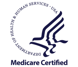 Department of Health and Human Services Medicare Certified logo